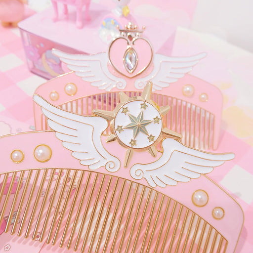Japanese Star Wings Hair Comb
