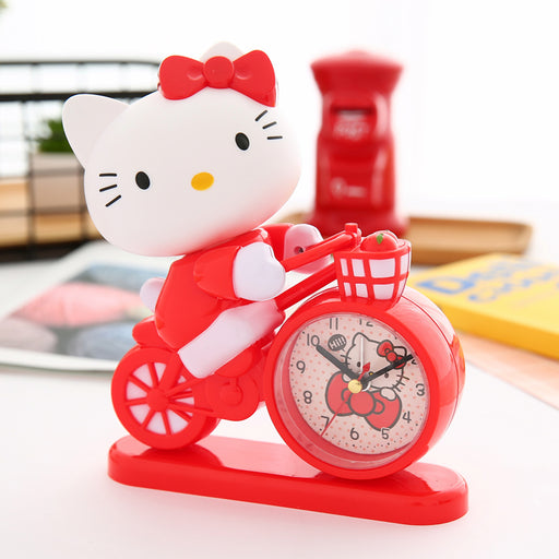Kawaii Japanese Koreanins cartoon girl heart bedside alarm