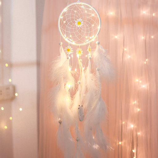 Kawaii  Japanese  Korean  Girl's heart wind chime forest decoration pendant