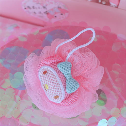 Kawaii  Japanese  Korean  -Cute cartoon K*T Melody bath ball