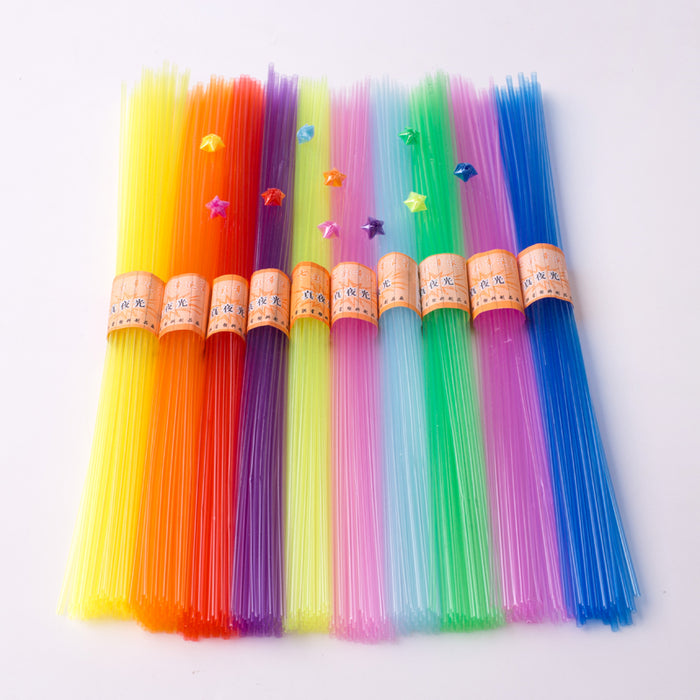 Kawaii Japanese Korean transparent plastic star tube