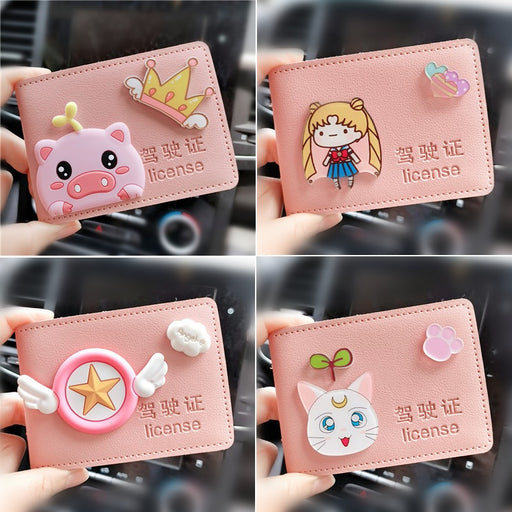 Sailor Moon Driving License Leather Case