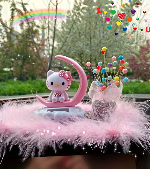 Hellokitty Shaking Head Car Decoration