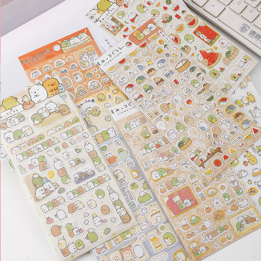 Sumikko Gurashi Stickers Gold Foil Sticker Deco Stickers
