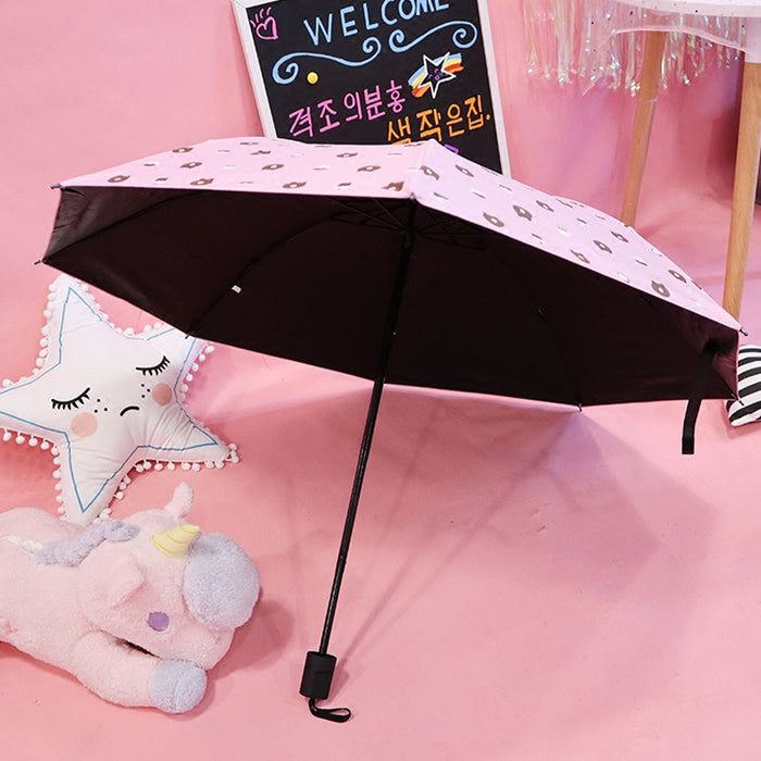 Kawaii  Japanese  Korean  sun umbrella sun protection and ultraviolet protection umbrella