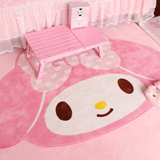Kawaii  Japanese  Korean  Girls Home Carpet Girl Heart Cartoon Floor Mat / Carpet / Bedroom Blanket Game Mat