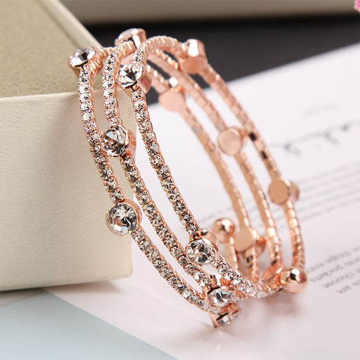 Kawaii  Japanese  Korean  -Crystal Multilayer Bracelet Girlfriend Bracelet Sister Bracelet