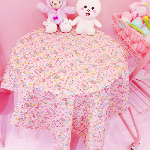 Kawaii Japanese Korean Gemini Cartoon Waterproof and Oilproof DIY Tablecloth Table Mat