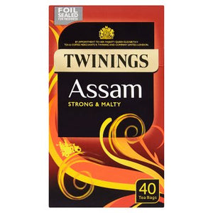 Twinings Origins Assam Tea Strong & Malty 4x40s [Regular Stock], Twinings, Drinks- HP Imports