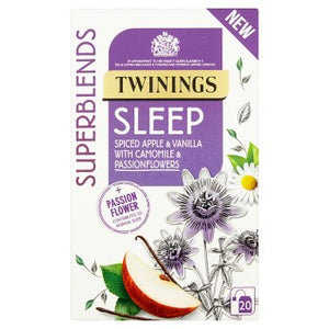 Twinings Superblends Sleep Tea Bags 4x20's [Regular Stock], Twinings, Drinks- HP Imports