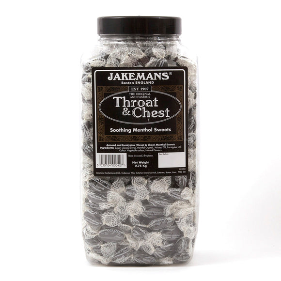 Jakeman's Throat & Chest Lozenges 2.7 kg [Regular Stock], Bulk Candy, Jakeman's, [variant_title],HP Imports British Wholesale Distribution