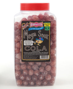 Barnetts Mega Sour Cola Jar 3kg [Regular Stock], Barnetts, Bulk Candy- HP Imports