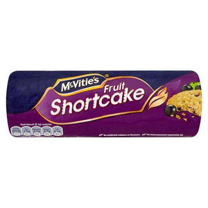 McVitie's Fruit Shortcake Biscuits 12x200g [Regular Stock], Mcvitie's, Biscuits/Crackers- HP Imports