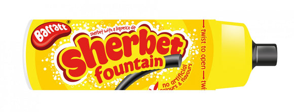 Barratt Sherbet Fountains 48x25g [Regular Stock]