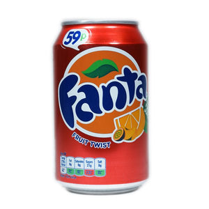 Fanta Fruit Twist (PM) 24x330ml [Regular Stock], Coca-Cola, Pop Cans- HP Imports