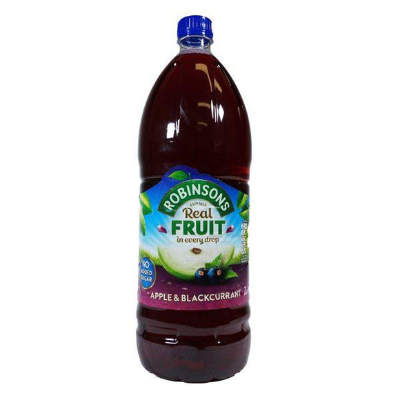 *Robinsons Apple & Blackcurrant No Added Sugar 6*2L [Pre-Order Stock], Drinks, Robinsons, [variant_title],HP Imports British Wholesale Distribution