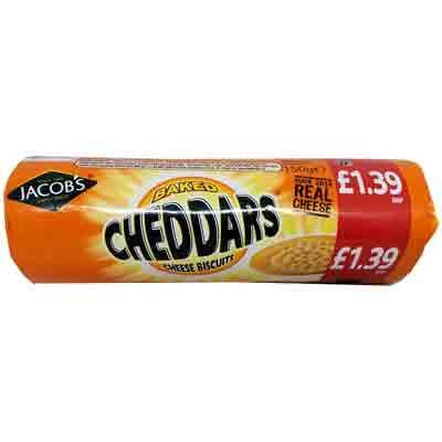 Jacob's Cheddars (PM) 12x150g [Regular Stock], Jacob's, Biscuits/Crackers- HP Imports