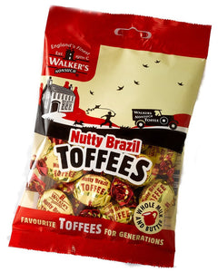 Walker's Brazil Nutty Toffee Bags 12x150g [Regular Stock], Walkers, Bagged Candy- HP Imports