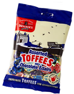 Walker's Assorted Toffee & Eclairs Bags 12x150g [Regular Stock], Walkers, Bagged Candy- HP Imports