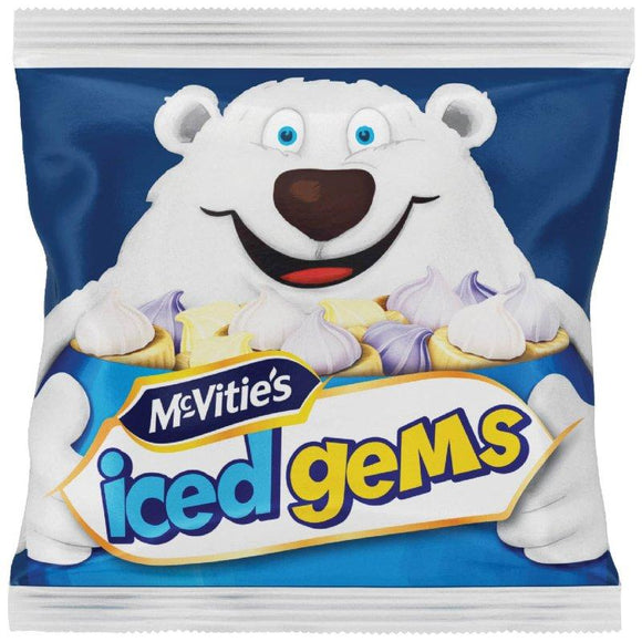 McVitie's Iced Gems (PM) 5PKP 16x25g [Regular Stock], Mcvitie's, Biscuits/Crackers- HP Imports
