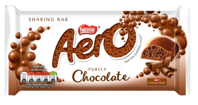 Nestle Aero Milk Bar 15x100g [Regular Stock], Nestle, Chocolate Bar/Bag- HP Imports