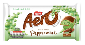 Nestle Aero Peppermint 15x100g [Regular Stock], Nestle, Chocolate Bar/Bag- HP Imports