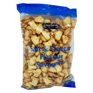 Crawford Salt & Vinegar Savouries 8x250g [Regular Stock], Crawford, Crisps/Snacks- HP Imports