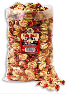 Walker's Nutty Brazil Toffees 2.5kg [Regular Stock], Walkers, Bulk Candy- HP Imports