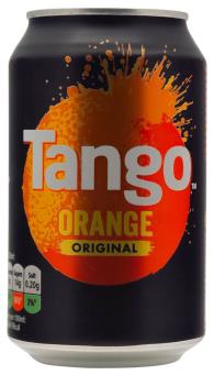 Tango Orange cans 24x330ml [Regular Stock], Tango, Pop Cans- HP Imports