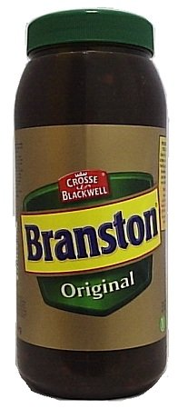 Branston Original Pickle (Catering) 1x2.55kg [Regular Stock], C&B Branston, Table Sauces- HP Imports