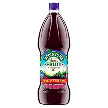 Robinsons Apple & Blackcurrant Double Concentrate No Added Sugar 6*1.75L [Regular Stock], Drinks, Robinsons, [variant_title],HP Imports British Wholesale Distribution