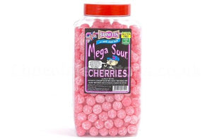 Barnetts Mega Sour Cherry Jar 3kg [Regular Stock], Barnetts, Bulk Candy- HP Imports
