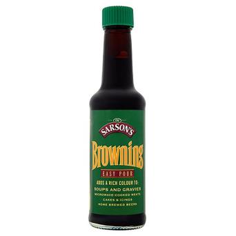 Sarson's Premium Browning Gravy 12x150ml [Regular Stock], Sarsons, Cooking Aids/Sauces/Mixes- HP Imports
