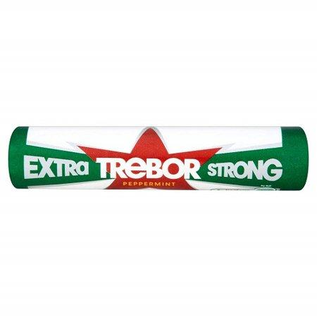 Trebor Extra Strong Mints Rolls 40x41.3g [Regular Stock], Trebor, Bagged Candy- HP Imports