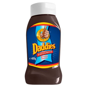 Daddies Favourite Brown Sauce 8x400g [Regular Stock], Daddies, Table Sauces- HP Imports