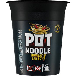 Pot Noodle Bombay Bad Boy 12x90g [Regular Stock], Pot Noodle, Soups- HP Imports