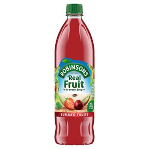 Robinsons Summer Fruits No Added Sugar 12x1L [Regular Stock], Robinson's, Drinks- HP Imports