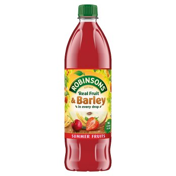 Robinsons Summer Fruit & Barley No Added Sugar (PM) 12x1L [Regular Stock], Robinsons, Drinks- HP Imports