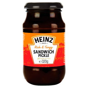 Heinz Rich & Tangy Sandwich Pickle 8x320gm [Regular Stock], Heinz, Table Sauces- HP Imports