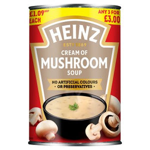 Heinz Cream of Mushroom Soup (PM) 12x400g [Regular Stock]