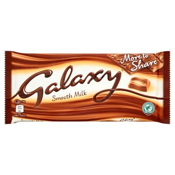 Mars Galaxy Smooth Milk Chocolate More to Share Block 20x200g [Regular Stock], Mars, Chocolate Bar/Bag- HP Imports