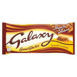 Mars Galaxy Smooth Caramel Chocolate More to Share Block 20x204g [Pre-Order Stock], Mars, Chocolate Bar/Bag- HP Imports