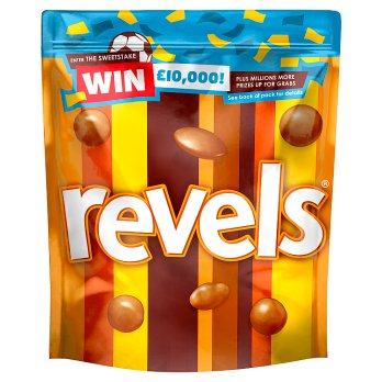 Mars Revels Pouch 15x101g [Regular Stock], Mars, Chocolate Bar/Bag- HP Imports