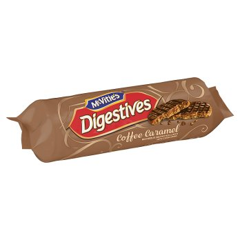 McVitie's Digestives Coffee Caramel 12x267g [Regular Stock], Mcvitie's, Biscuits/Crackers- HP Imports
