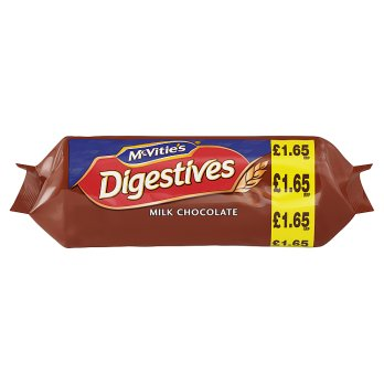 McVitie's Digestive Milk Chocolate Biscuits 15x266g [Regular Stock], Mcvitie's, Biscuits/Crackers- HP Imports