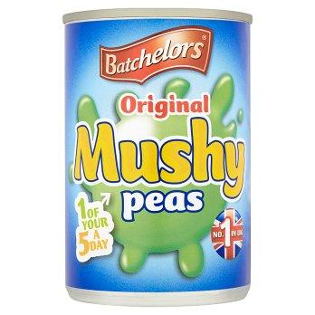 Batchelors Mushy Peas Original 24x300g [Regular Stock], Batchelors, Vegetables- HP Imports