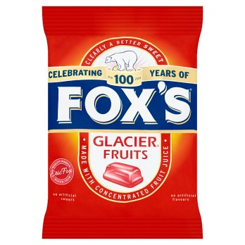 Fox's Glacier Fruits 10x200g [Regular Stock], Fox's, Bagged Candy- HP Imports