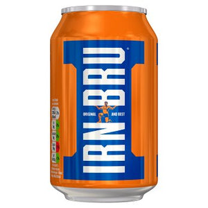 Barr's IRN-BRU Cans (PM) 24x330ml [Regular Stock], Barr's, Pop Cans- HP Imports