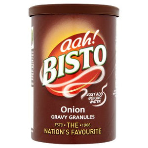 Bisto Onion Gravy Granules 12x170g [Regular Stock], Bisto, Cooking Aids/Sauces/Mixes- HP Imports