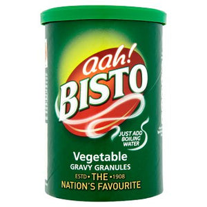Bisto Vegetable Gravy Granules 12x170gm [Regular Stock], Bisto, Cooking Aids/Sauces/Mixes- HP Imports
